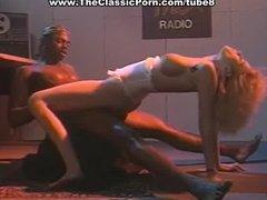 Horny blonde dreams of fat black cock