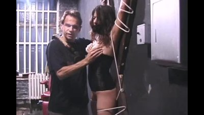 Painful pussy punishment for Talia