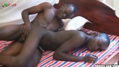 Black Bareback Safari Part 2
