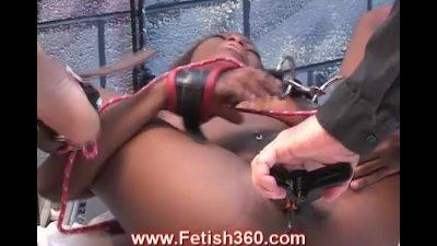 Pussy and ass punishment