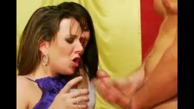 Horny Women In A Club Sharing Stripper Cock With Their Mouths