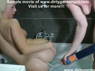 Isabella Clark  Dirtygardengirl drink enema and lick ass main image