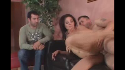 Sexy bouncy ass spanked while she took a hard cock