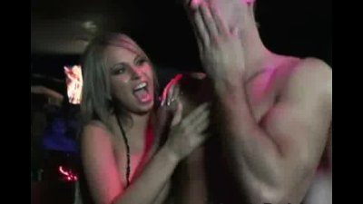 Horny Women Watch Male Stripper Doggystyle Their Friend