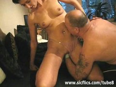 Preview 1 of Extreme Amateur Brutally Fist Fucked In Her Huge Pussy