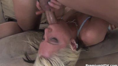 Tricia Oaks gets her mouthful of cock