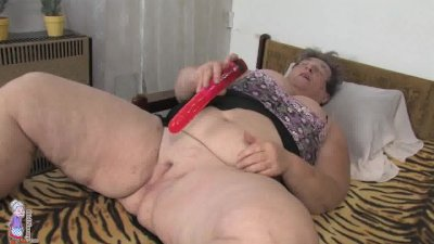 Granny and toy