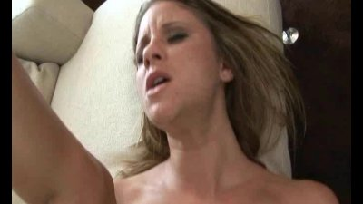 Blonde whore getting fucked and stretched all the way