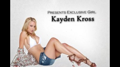 Dominant blonde escort Kayden Kross is fucked hard by her client