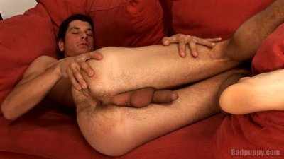 Jan shows his tight hole