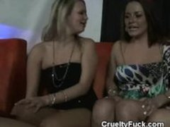 Brides Plays With Stripper At Her Stagette Party