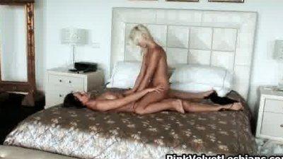 Horny blonde slut Lola has cute part4