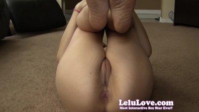 Lelu LoveNaked Workout Asshole Puckering