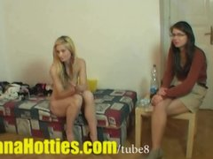 Preview 5 of Fresh Tereza  Double Bj And Threesome At The 1st Casting