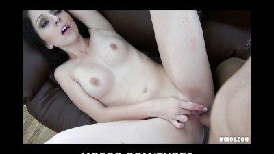 Amateur brunette GF wants to make a new sex tape