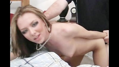 Skinny chick fucked in hotel room