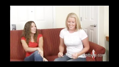 Amber and Ashley play Strip Ro