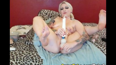 Hot Emo Blonde Anal Penetration HD