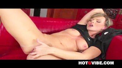 Masturbating Sandra Sanchez 2