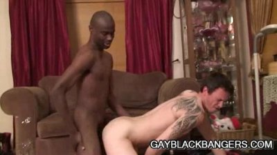 Famished Dilf Derrick Paul Feasting On A Big Black Cock