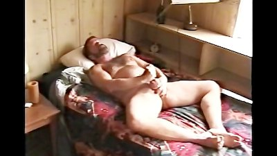 Hairy Bear Jackoff