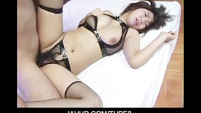 Huge titted asian chick puts h