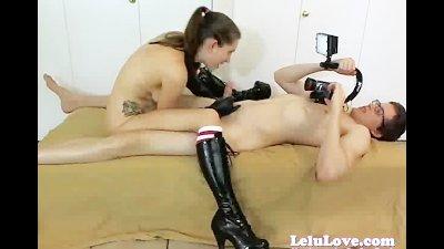 WEBCAM Vibrator Gloves Boots Fuck