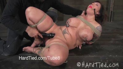 Claire dames giant breasts get nipple torture