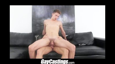 GayCastings professional street dick sucker turns amateur porn star in live