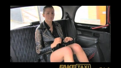 FakeTaxi No money, so she pays with h...