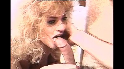 Blonde fuck pro makes guy expl