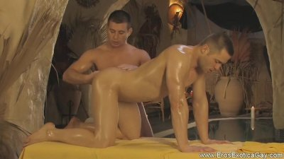 Sensual Pleasures in Gay Anal Massage