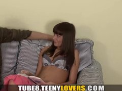 Preview 1 of Teeny Lovers - With Cock In Her Pussy