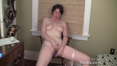 hairy dildo fucking