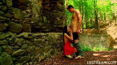 Untamed outdoor fucking	Hunk