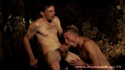 Huge dick Terry Loo and Steve Johanson from Hammerboys TV