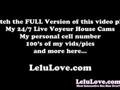Lelu Love-Multiple Orgasms Riding Through Creampie