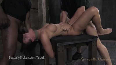 Cassandra Nix Fucked and then Suspended in Bondage