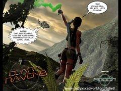 Preview 1 of 3d Comic: Clara Ravens. Episode 1