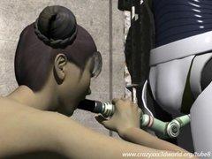3D Animation: Robot Captive