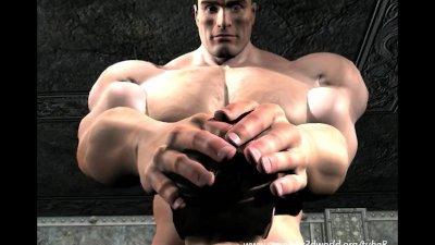 3D Animation: Barbarian King Fucks Babe