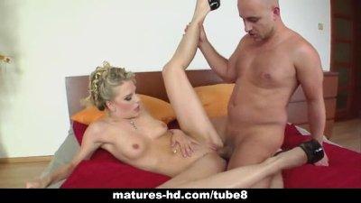 Horny MILF fucked hard from behind