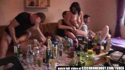 Czech Amateur Secret Groupsex