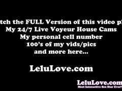 Lelu Love-Precum Tasting Jerkoff Encouragement