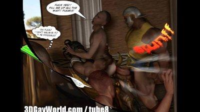 Ancient 3D Roman Orgies
