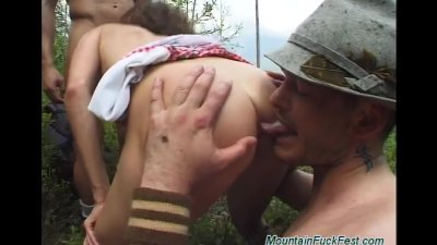 rough german anal mountain fuckfest
