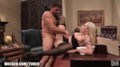 Bailey Blue gets railed in the
