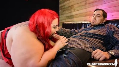 SSBBW Jaymez Ryder Fucks Bachelor at BBW Strip Club