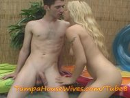 The Swinger Experience Presents Babe TEEN housewive cheats in the HOT TUB