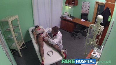 FakeHospital Young mum wanting to feel sexy has her ass tongued by the dr